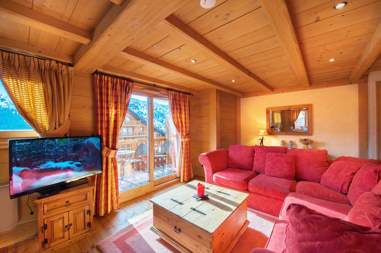 luxury rental house Meribel
