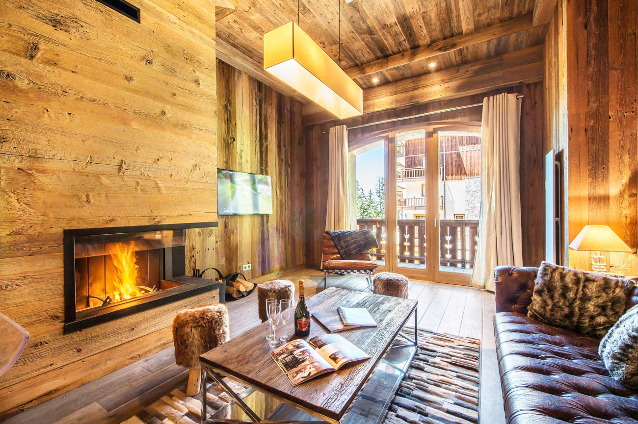 luxury ski Meribel