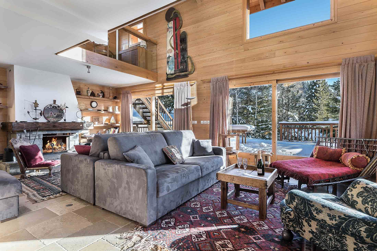 luxury chalets in Meribel. Meribel
