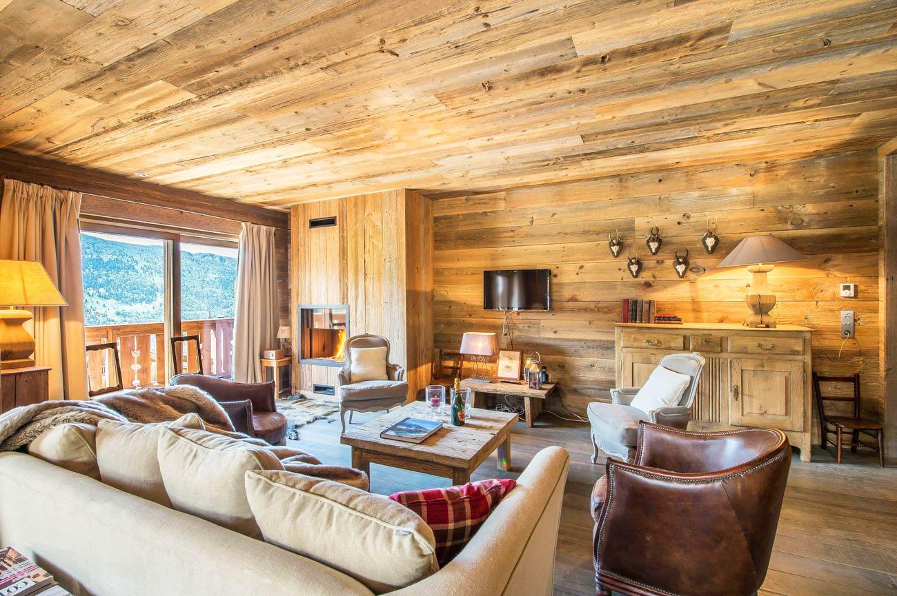 luxury ski Meribel