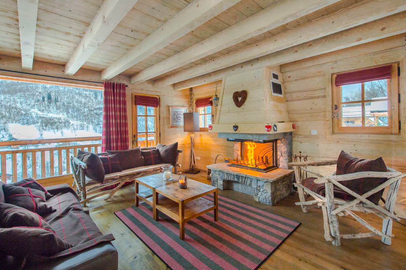 luxury villa rental Meribel