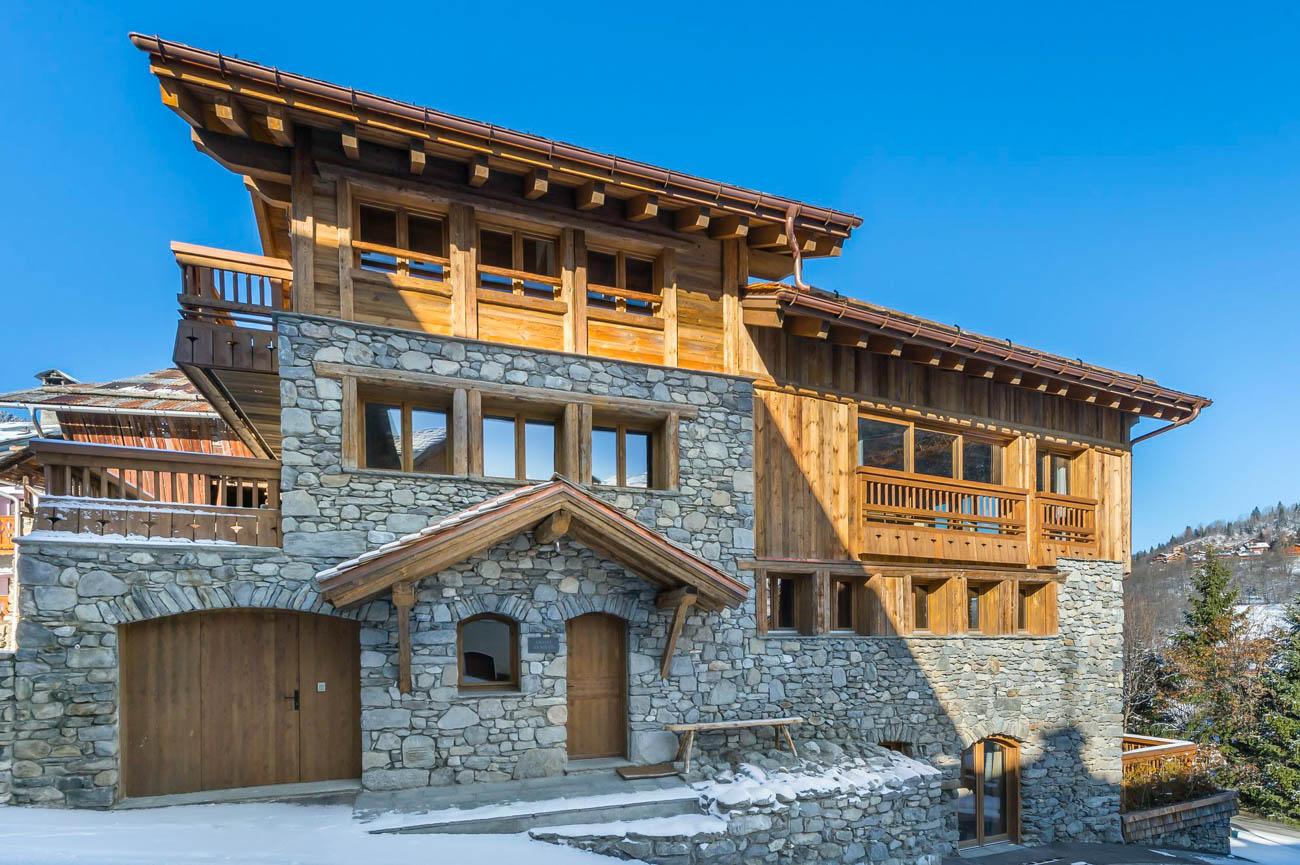 luxury homes for rent Meribel